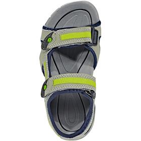 Hi-Tec GT Strap Sandals Kids cool grey/majolica blue/limonclimoncello